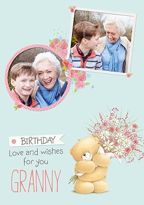 Granny Photo Forever Friends Birthday Card
