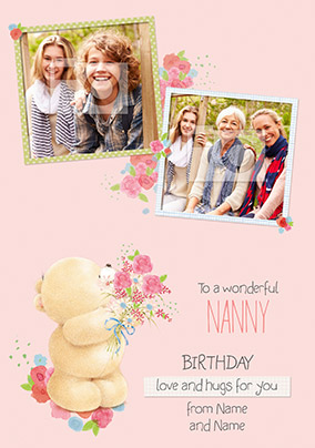 Nanny Photo Forever Friends Birthday Card