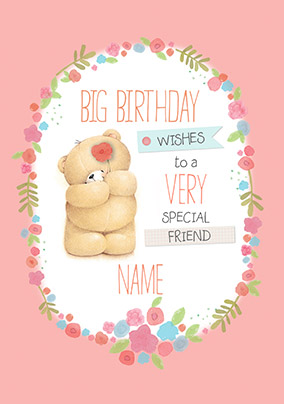 Special Friend Forever Friends Birthday Card NO Preview Image Is Not Found