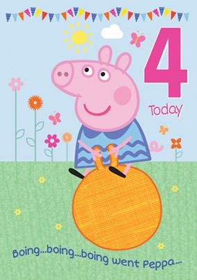 Peppa Pig Cards | Kids Birthday Cards | Funky Pigeon