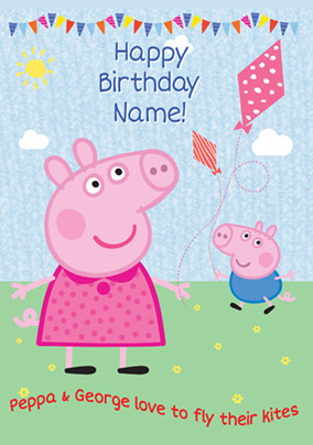 Peppa Pig Cards Kids Birthday Cards Funky Pigeon