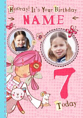 7th Birthday Cards