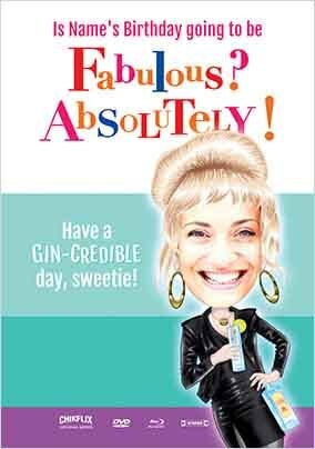 Fabulous - Absolutley! Spoof Photo Card