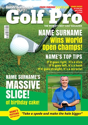 Hot Mags - Birthday Card Golf Pro