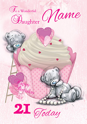Me To You Sketchbook - 21st Daughter Birthday