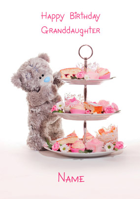 Me To You Photo Finish - Granddaughter Cake Tier