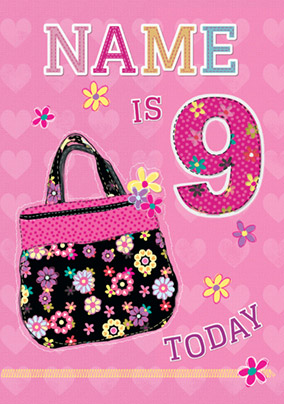 Just Kids - 9th Birthday Handbag