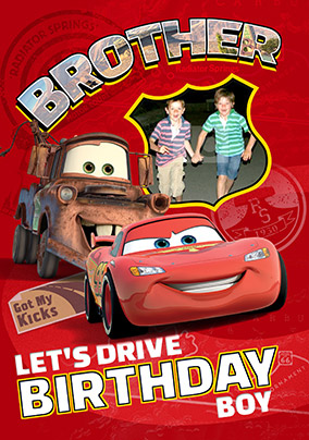 Disney Cars Birthday Cards