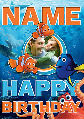 Finding Dory - Birthday Card Happy Birthday