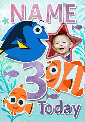 Finding Dory - Birthday Card 3 Today!