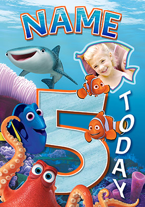 Finding Dory - Birthday Card 5 Today!