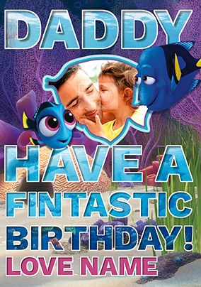 Finding Dory - Birthday Card Daddy from Daughter