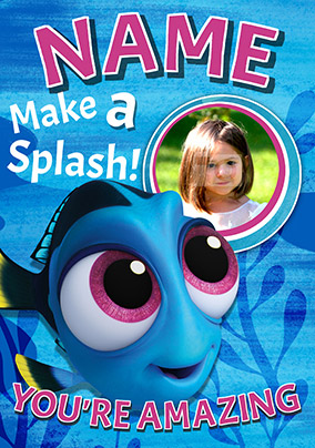 Finding Dory - Birthday Card Make a Splash!