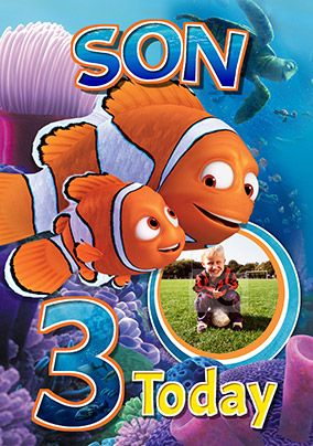 Finding Dory - Birthday Card Son Birthday
