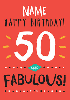 More Like This 50th Birthday