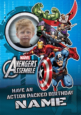Avengers Assemble - Action Packed Birthday
