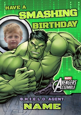 Avengers Assemble - Hulk Smashing Birthday