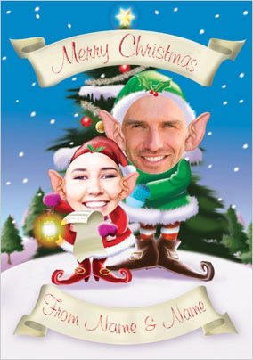 Christmas Elves Family of Two