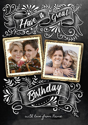 Have a Great Birthday Photo Card