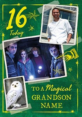Harry Potter - Magical Grandson Photo Card