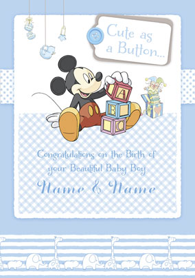 Disney Baby - Mickey Baby Boy