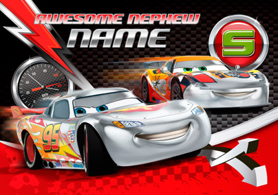 Disney Cars - Chrome Lightning McQueen