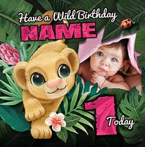 1 Today Nala Photo Card