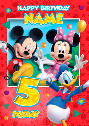 mickey mouse clubhouse group red funky pigeon