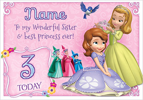 Sofia The First - Sister & Best Princess