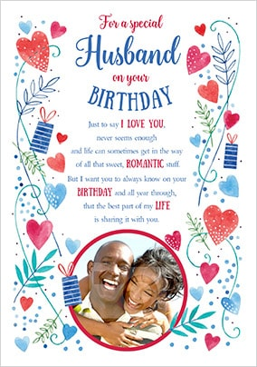 Romantic & I Love You Birthday Cards | Funky Pigeon