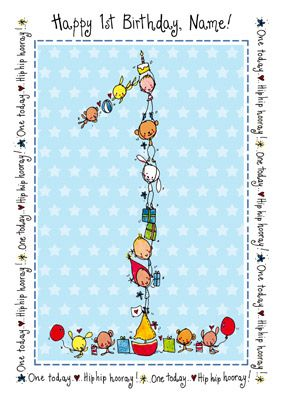Juicy Lucy - 1st Birthday Boy