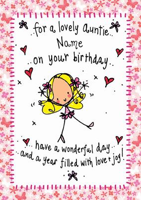 Send Auntie Birthday Cards