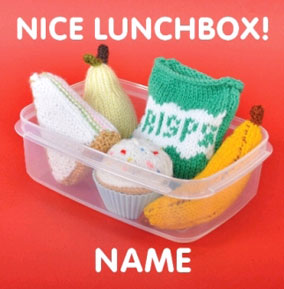 Knit & Purl Naughties - Nice Lunch Box
