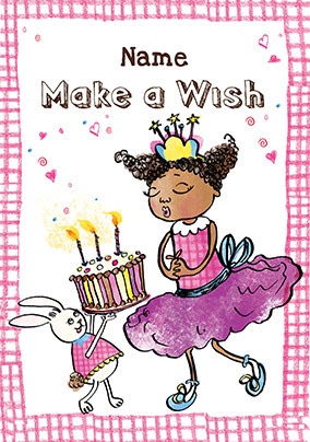 Birthday Wish Personalised Card