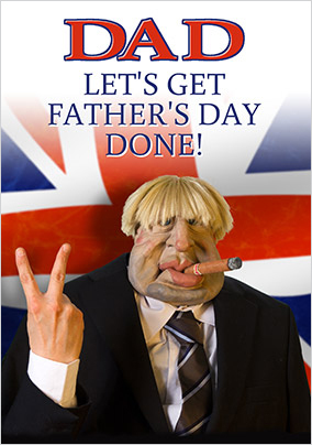 Get Father's Day Done Personalised Card