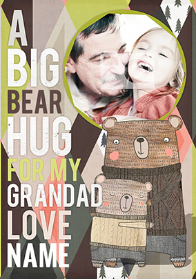 I Love You Bear Hugs - For my Grandad
