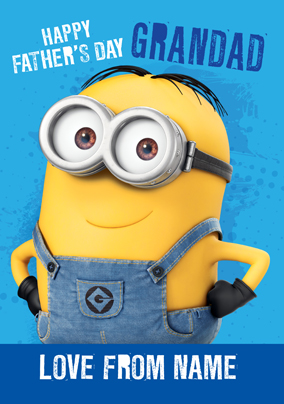 Despicable Me 2 - Grandad on Father's Day