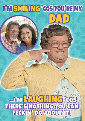 Mrs Brown's Boys Photo Father's Day Card