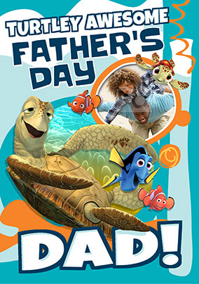 Finding Dory Photo Father's Day Card