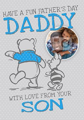 From Your Son Photo Father's Day Card