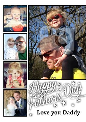 Essentials - Father's Day card Photo Upload Love You Daddy