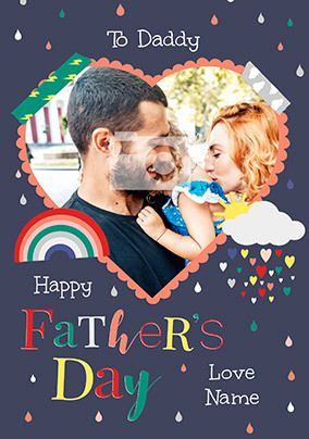 Happy Father's Day Photo Card