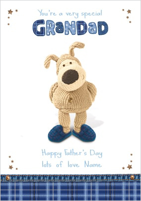 Boofle - For Grandad on Father's Day