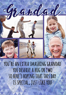 Smashing Grandad Card