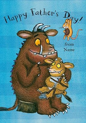 Gruffalo Happy Father's Day Card