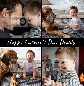 Happy Father's Day Daddy Photo Card