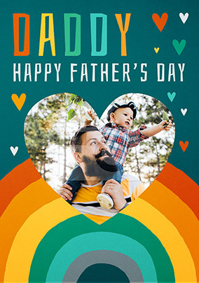 Daddy Happy Father's Day Photo Card