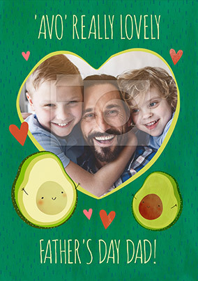 Avo Really Lovely Father's Day Photo Card