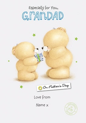Grandad Forever Friends Father's Day Card