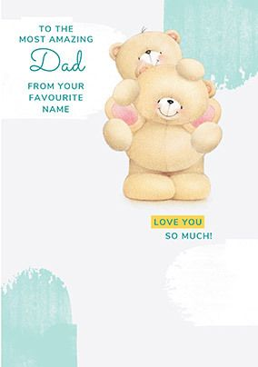 From your Favourite Forever Friends personalised Card